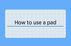 How to use pad